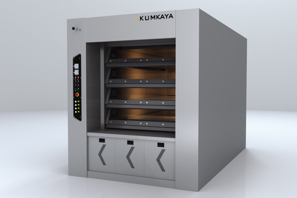 BR 100 stone based multi-deck tube ovens