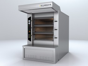 BRY 30 stone based multi-deck tube ovens