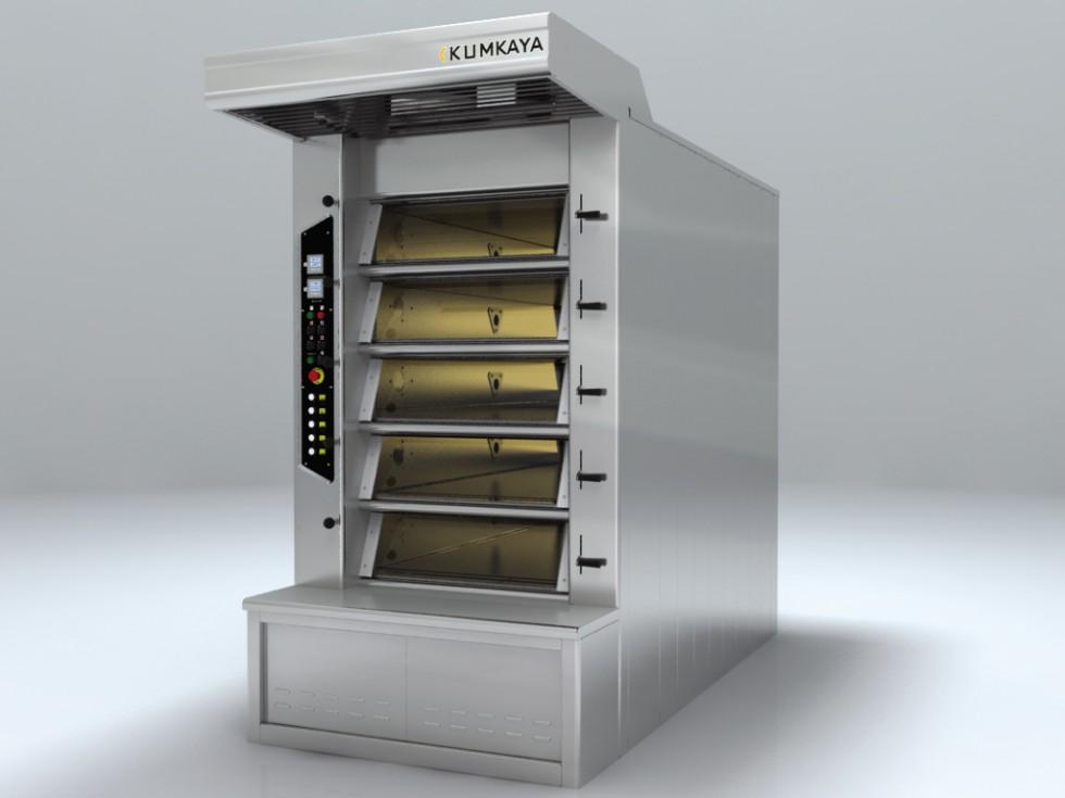 BRY 80 stone based multi-deck tube ovens