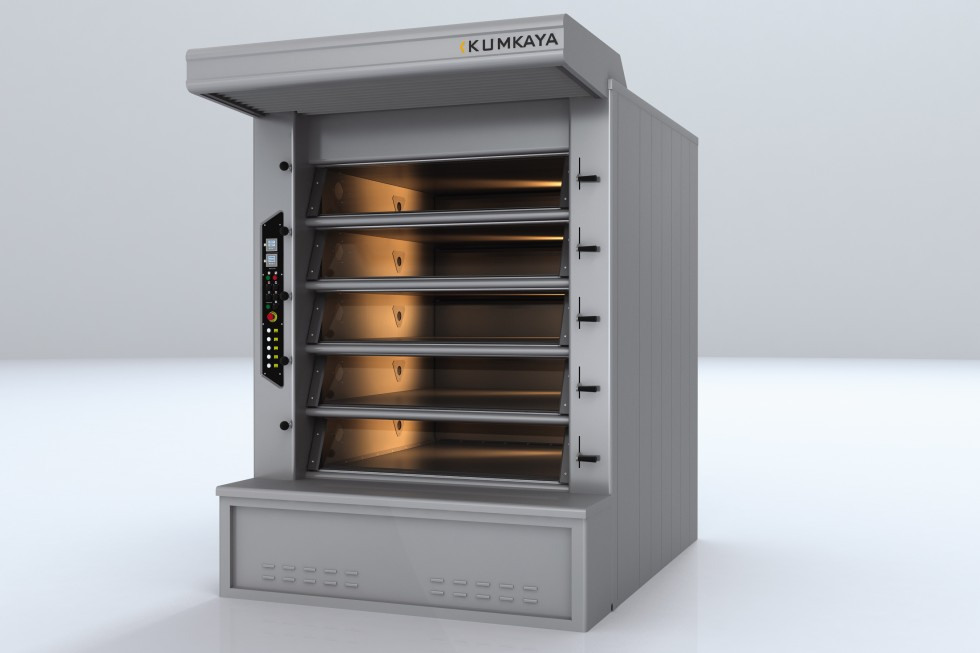 BRY 85 stone based multi-deck tube ovens