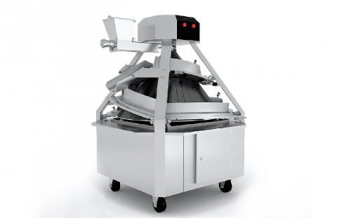 The dough rounder with adjustable trenches of CM3300