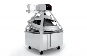The dough rounder with adjustable trenches of CM3301