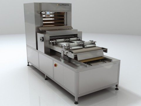 The dough rolling machine with function of layout DZ100