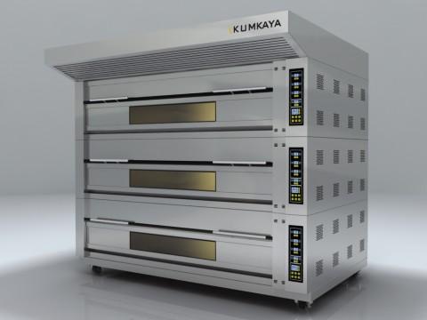 Подова модульна піч EF3050 (3 яруси – електрична)