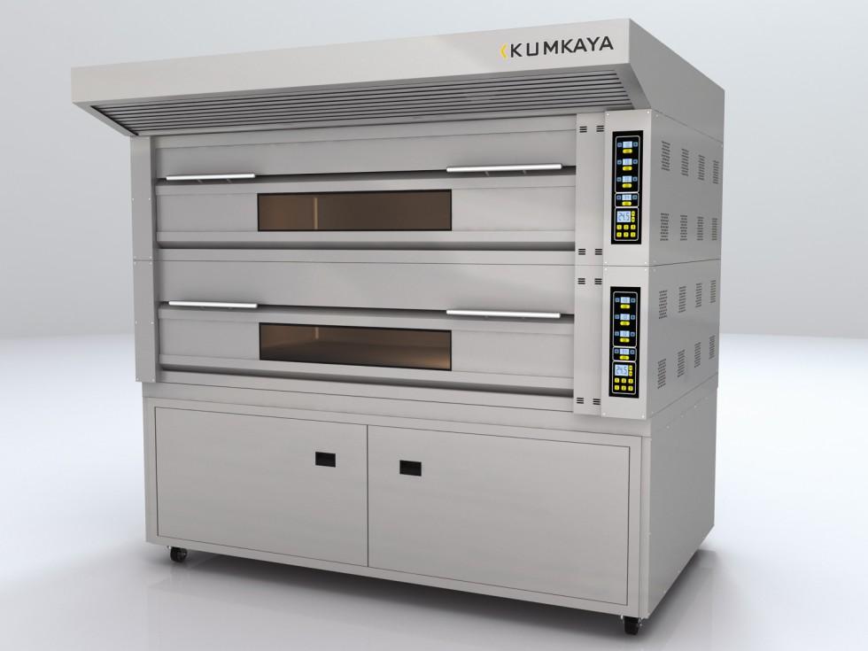 The hearth modular GF2050 furnace (2 tiers – gas)