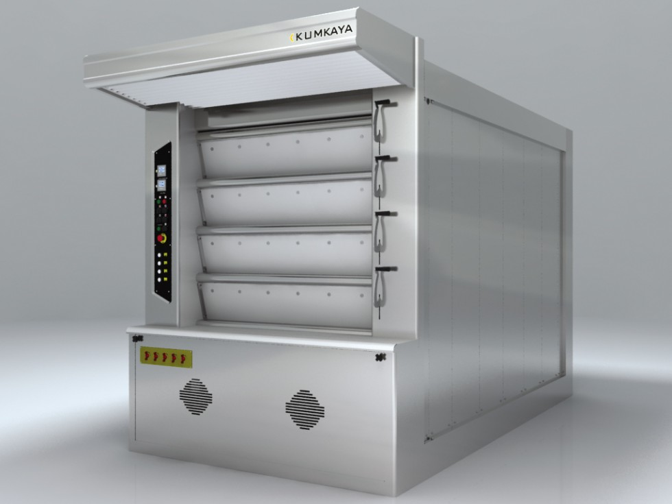 LIDER 100 cyclothermic stone based deck oven