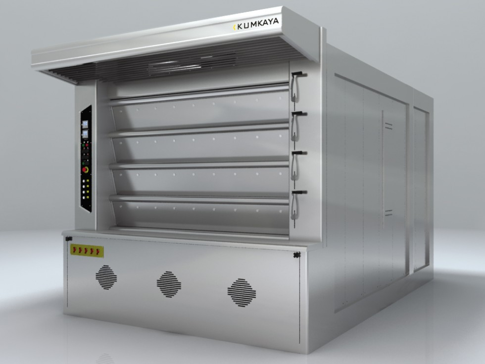 LIDER 150 cyclothermic stone based deck oven