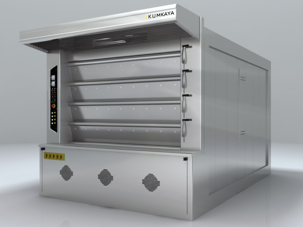LIDER 180 cyclothermic stone based deck oven