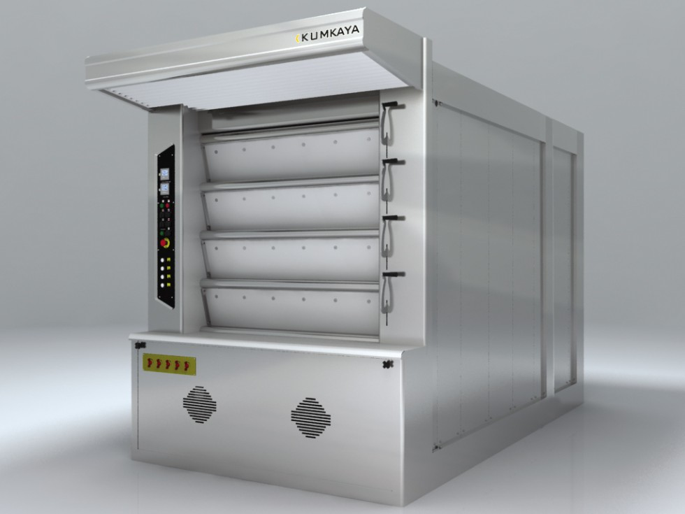 LIDER 80 cyclothermic stone based deck oven