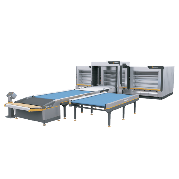 Автоматична подова хлібопекарська лінія OT180-3 (4-ярусна – потрійна, 54 м² площа випічки)
