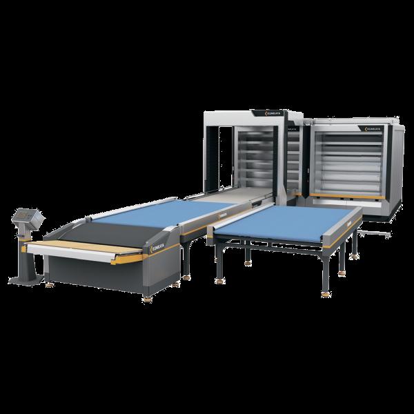 Автоматична подова хлібопекарська лінія OT270 (6 ярусна - подвійна, 54 м² площа випічки)