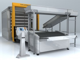 The automatic hearth OT270 baking transfer line (6 Tier – Unary, 27 m ² the area of pastries)