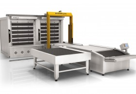 The automatic hearth OT270 baking transfer line (6 Tier - Double, 54 m ² the area of pastries)