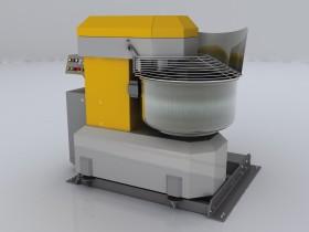 Spiral dough mixing car of SP 200K
