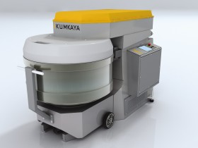 The spiral dough mixing machine from retractable bowl SP 250M