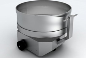 Retractable bowl of SP250M