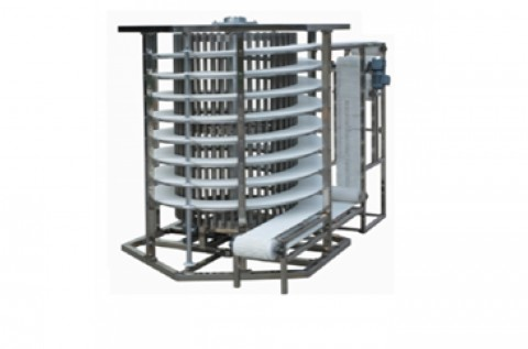 Spiral cooling tower