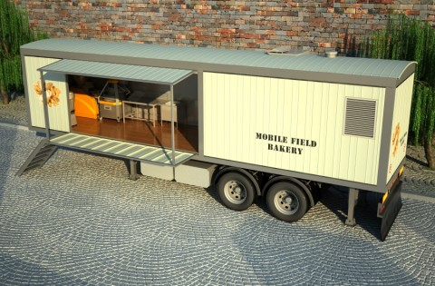 Field mobile bakery