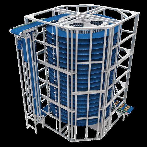 Спіральна охолоджувальна вежа